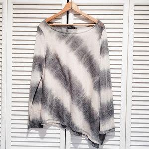 Prana Asymmetrical Hemline Lightweight Sweater